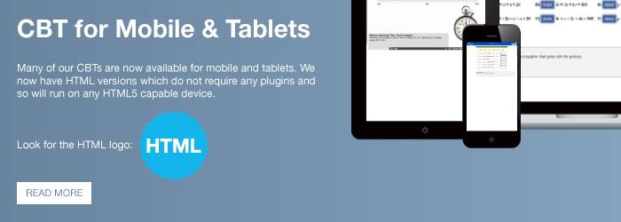 CBT for Mobile / Tablets